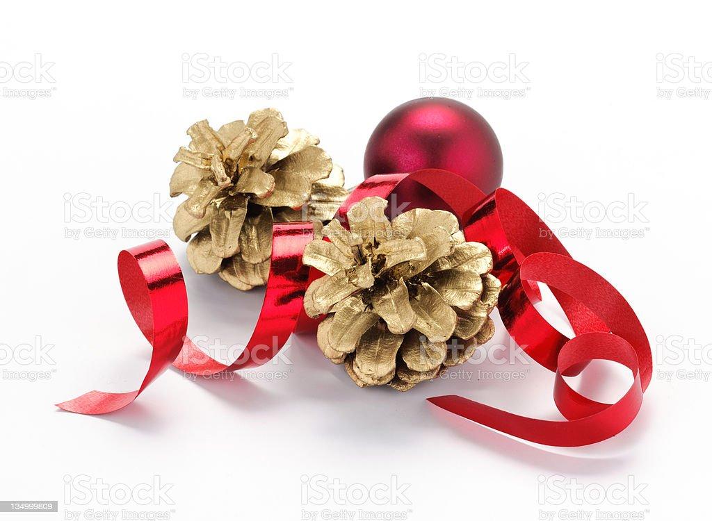 Decorazioni natalizie stock photo