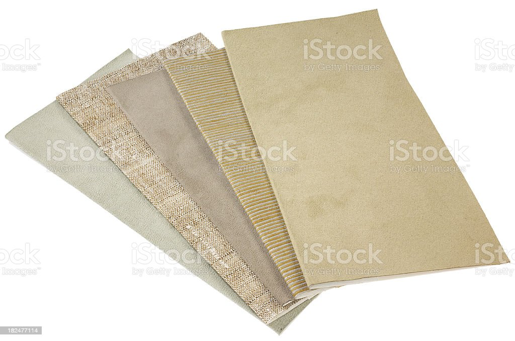 Decor-Fabric Swatch B stock photo