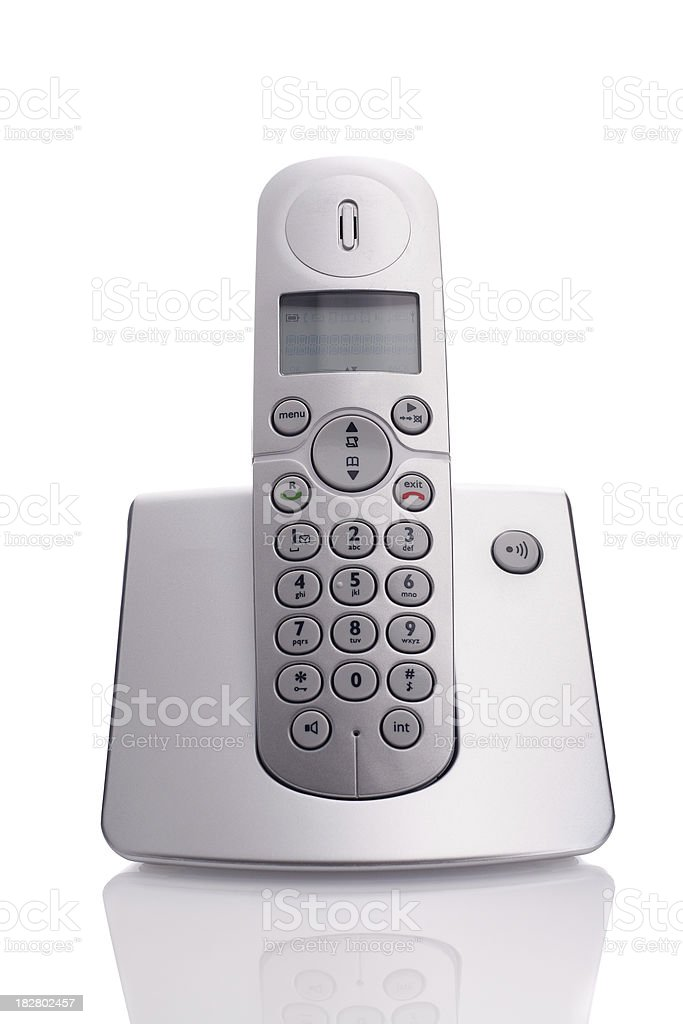 dect phone stock photo