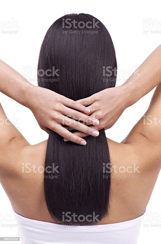 Dedicated to haircare stock photo