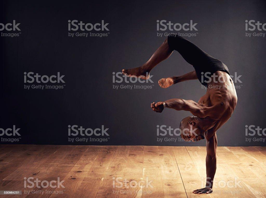 Dedication, passion, commitment stock photo