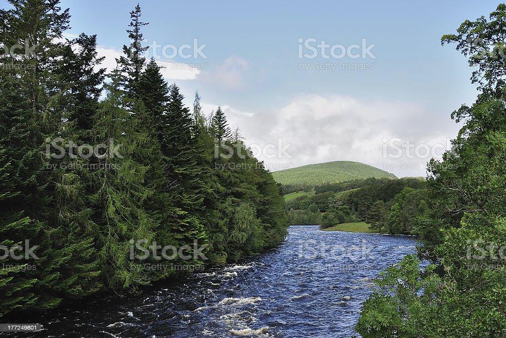 Dee / Schottland royalty-free stock photo
