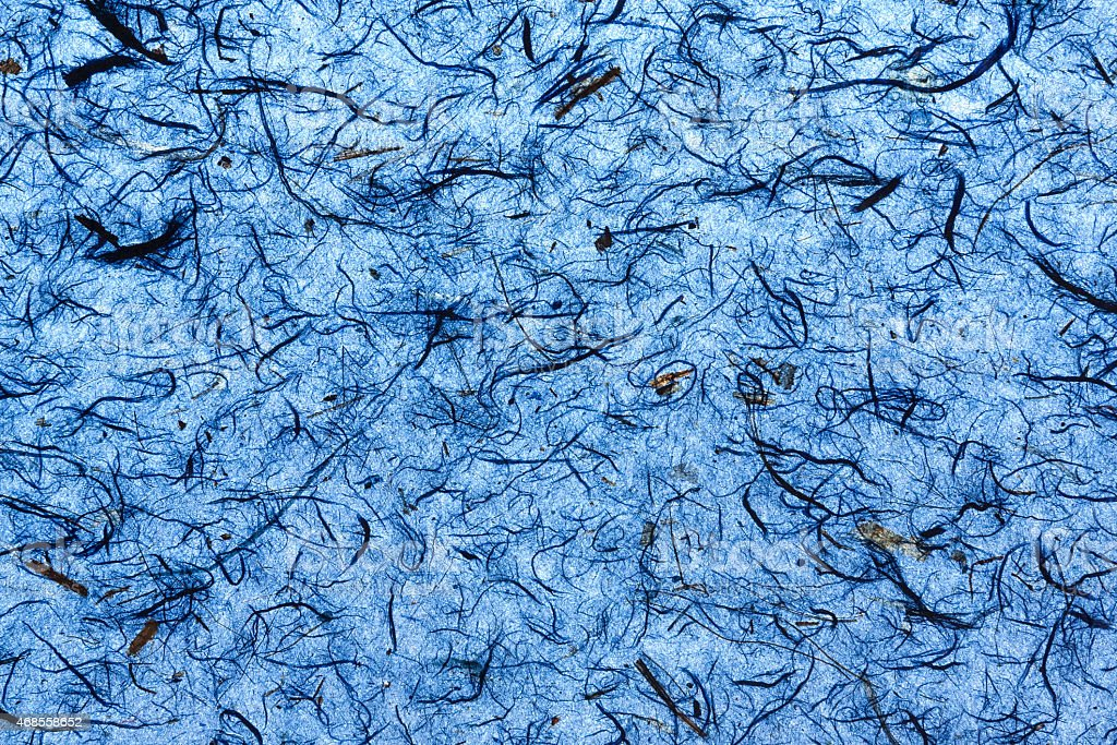 Deep blue natural paper texture royalty-free stock photo