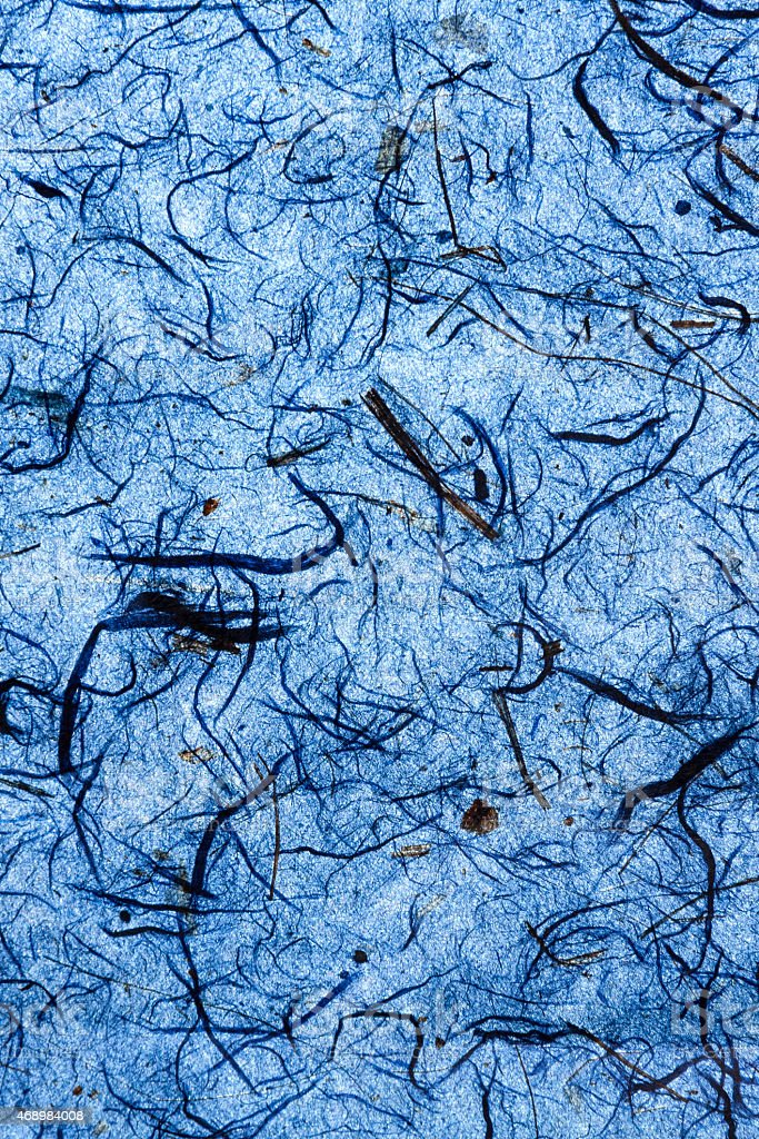 Deep blue natural paper texture verticle royalty-free stock photo