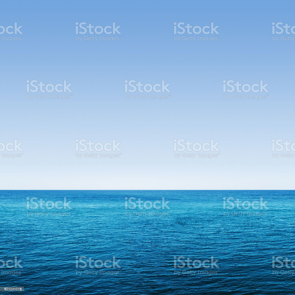 Deep Blue Ocean Seamless stock photo
