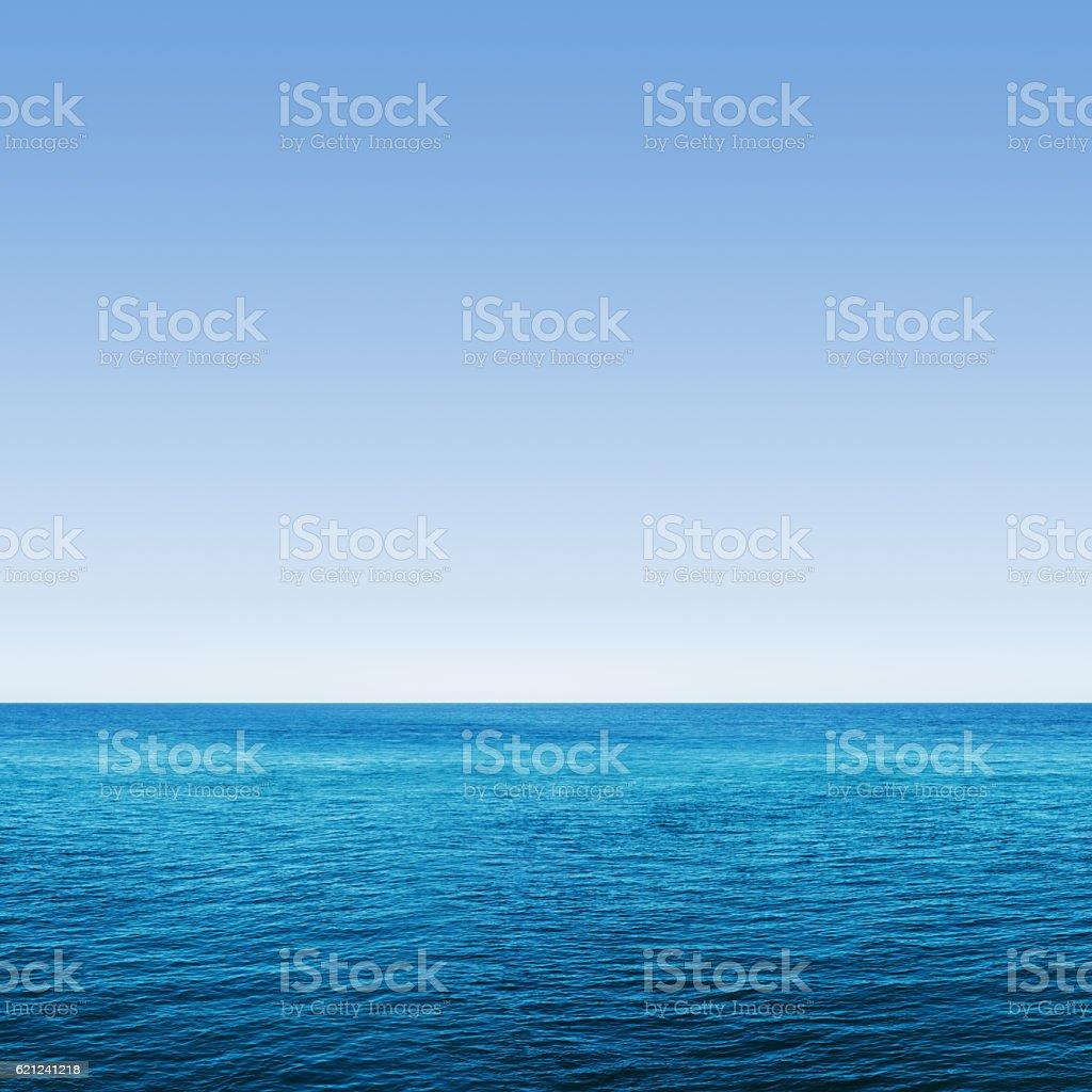 Deep Blue Ocean Seamless stock photo