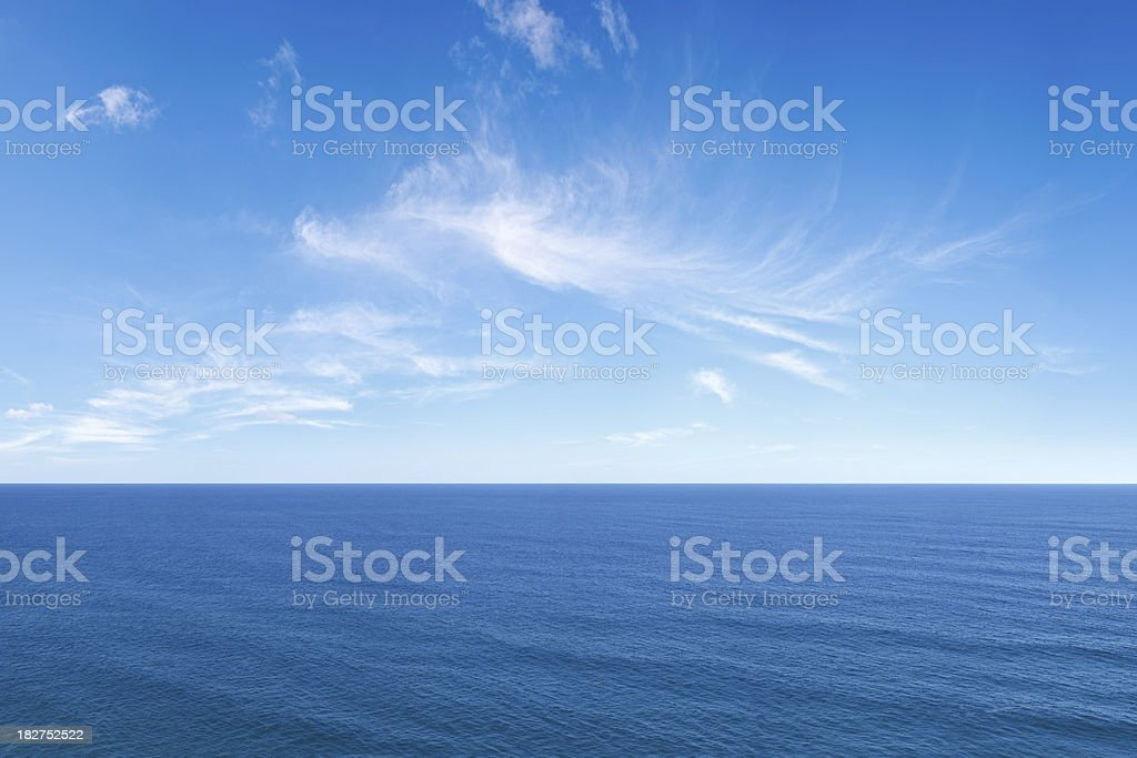 Deep Blue Sea 2 stock photo