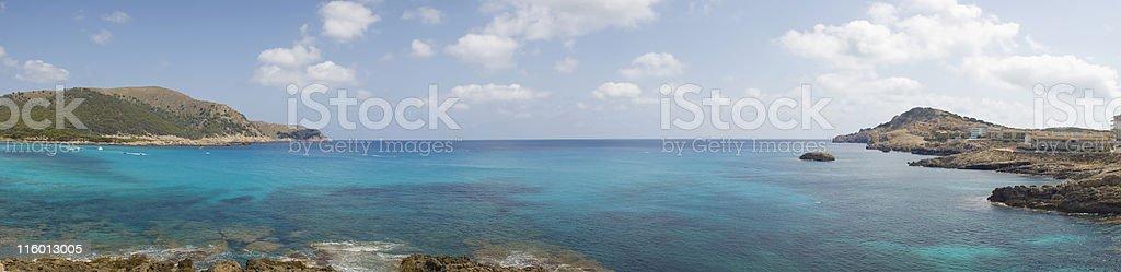 Deep blue sea. royalty-free stock photo