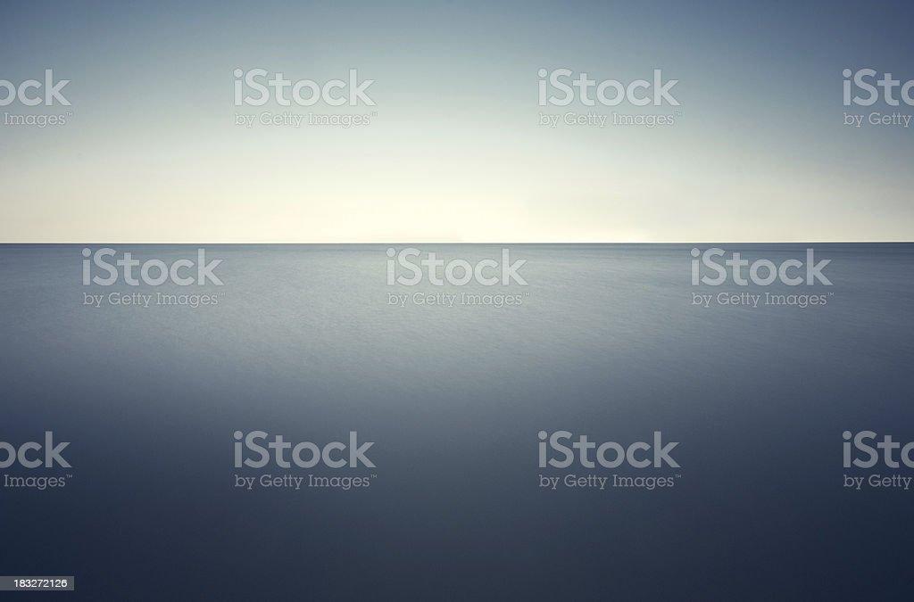 Deep Blue Sea royalty-free stock photo