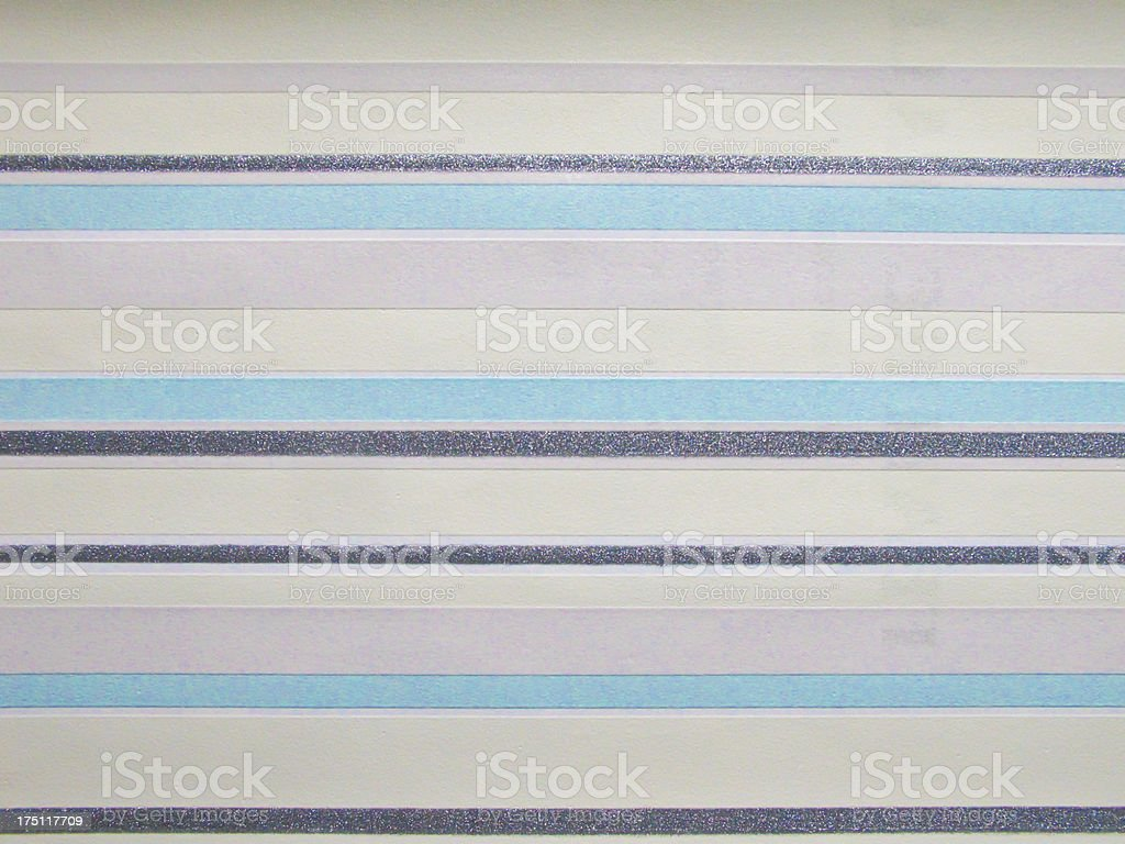 deep blue tone colour line vinyl wall cover stock photo