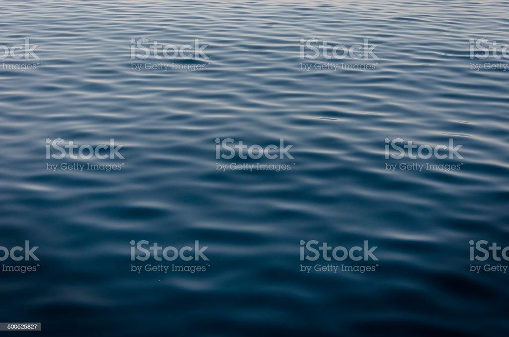 Deep blues sea royalty-free stock photo