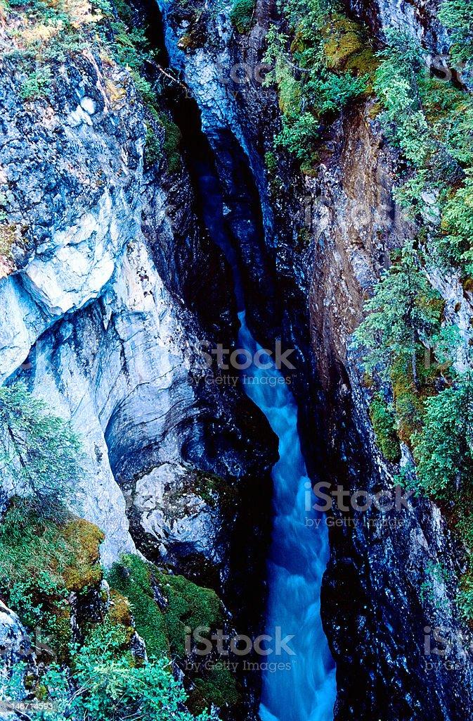 Deep canyon royalty-free stock photo