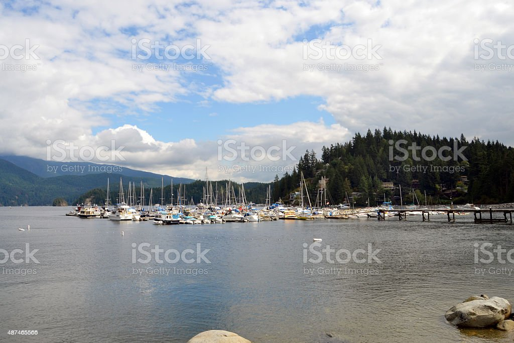 Deep Cove North Vancouver stock photo