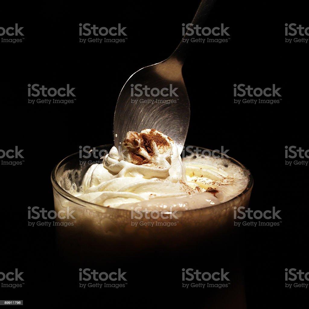Deep cream royalty-free stock photo