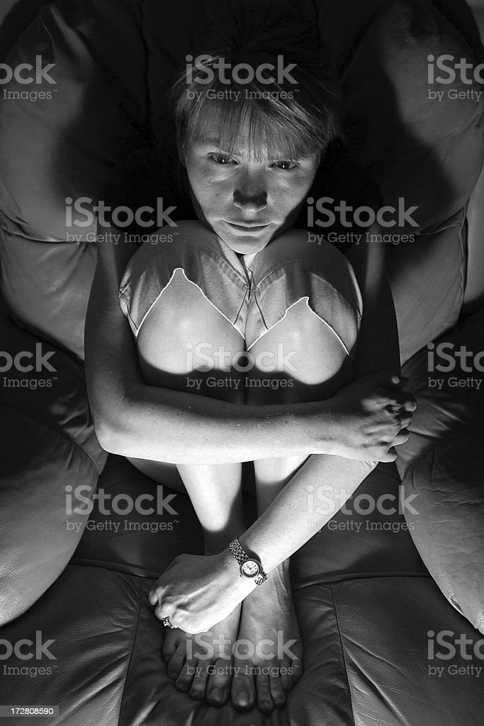 Deep Depression royalty-free stock photo