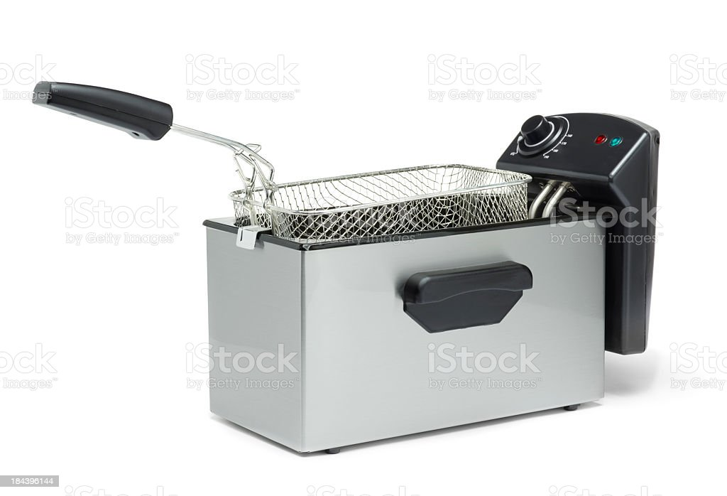 Deep fat fryer stock photo