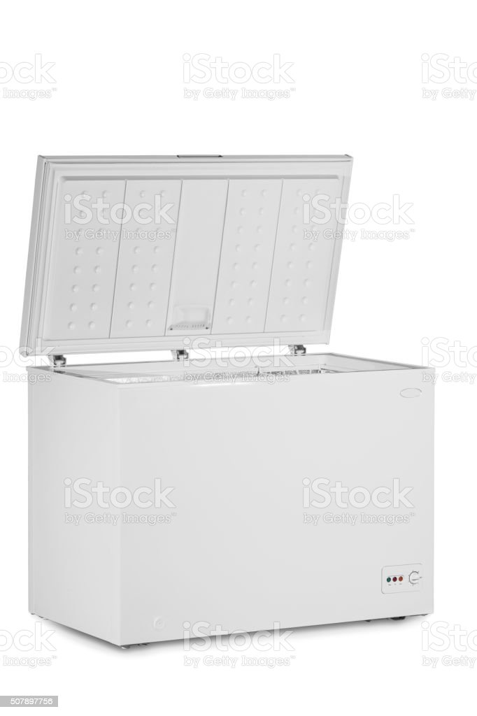 Deep Freezer stock photo