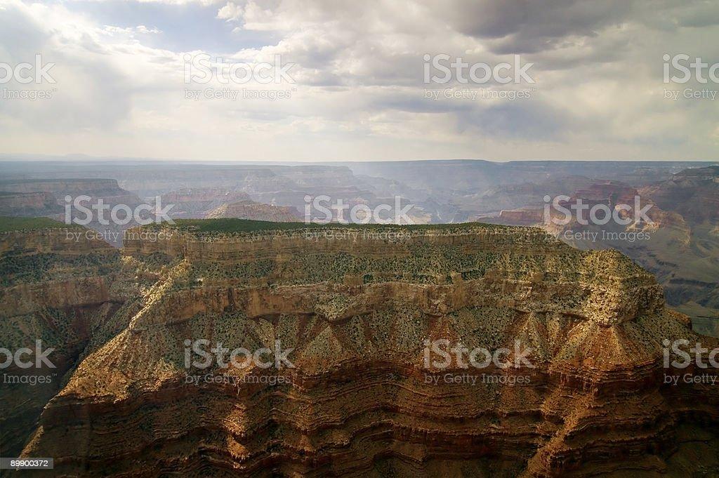 Deep Gorge, Grand Canyon, Arizona royalty-free stock photo