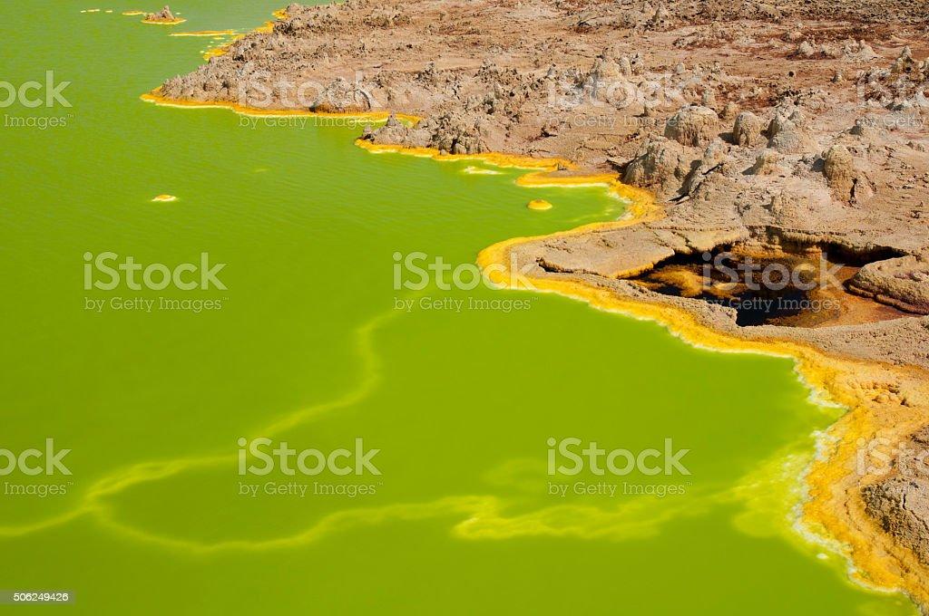 Deep Green stock photo