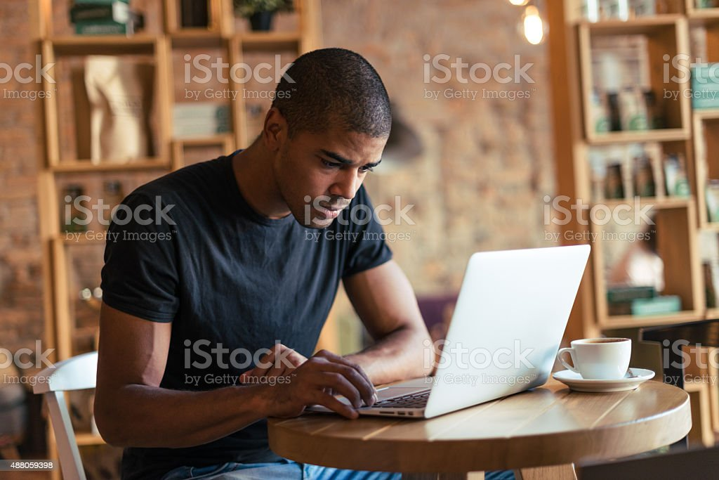 Deep in thought online stock photo