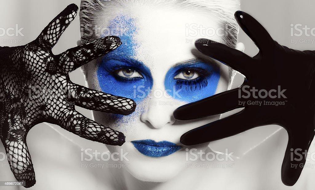 deep makeup stock photo
