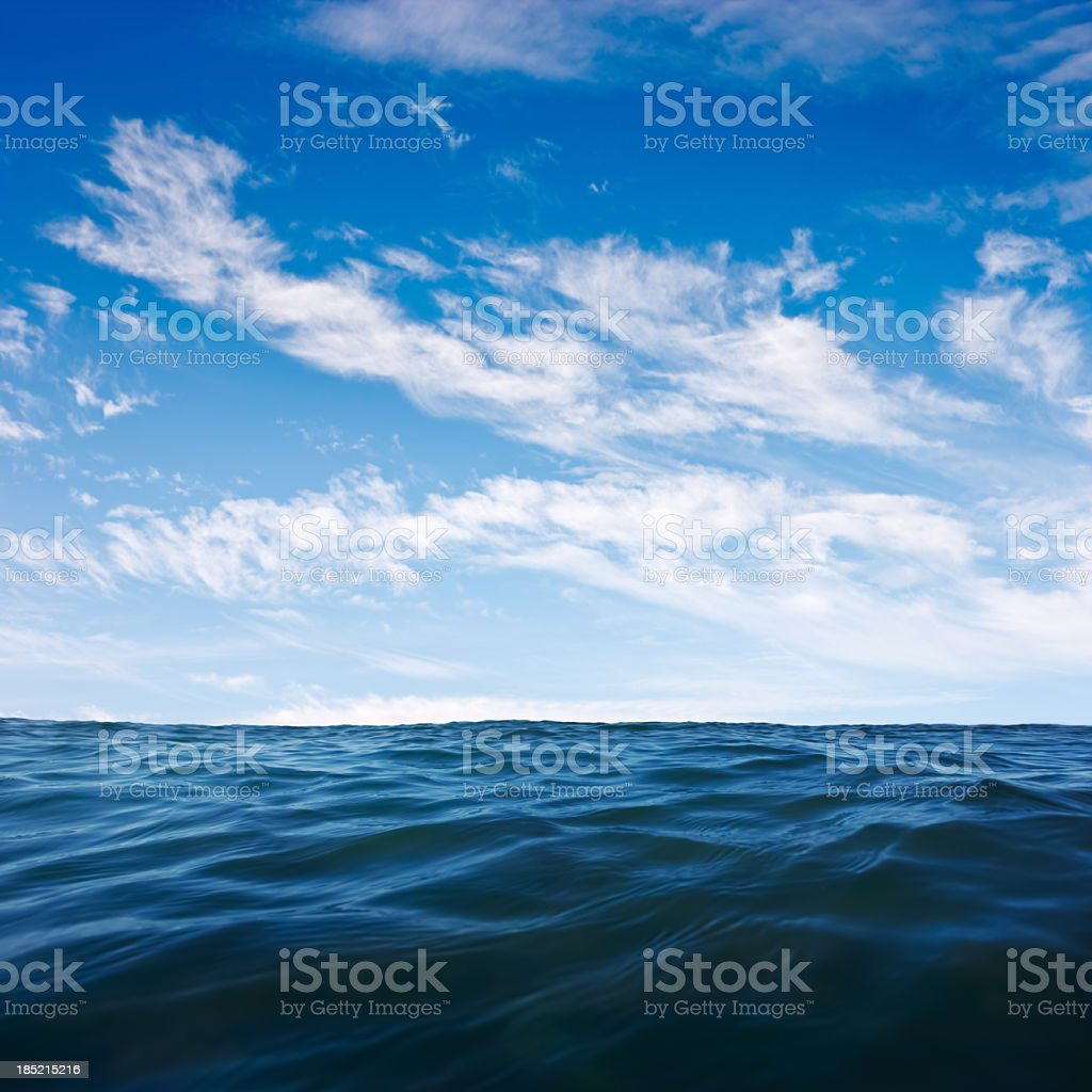 Deep Ocean stock photo