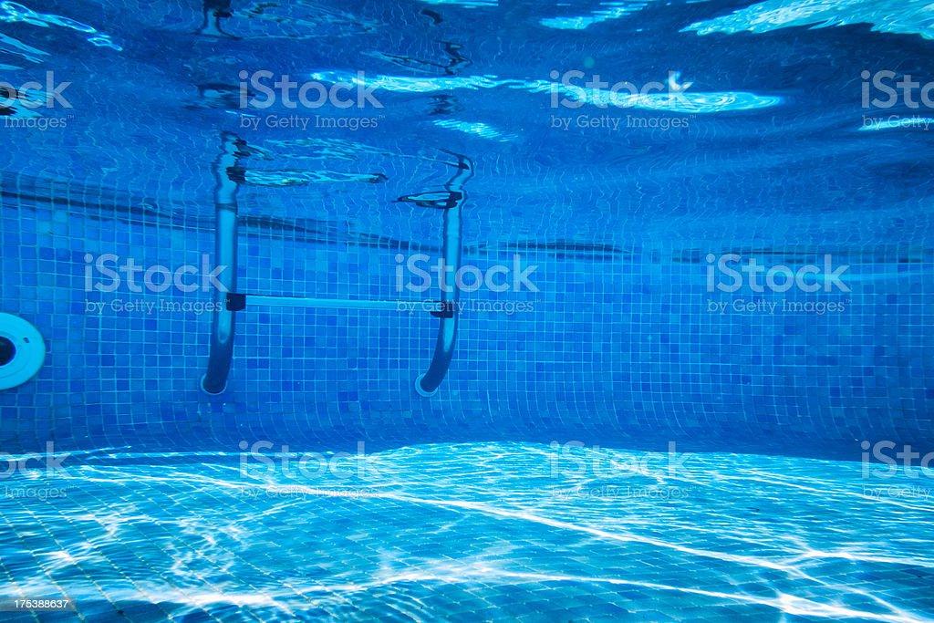 Deep of Swimming Pool stock photo