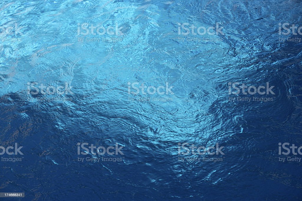 deep pool water stock photo