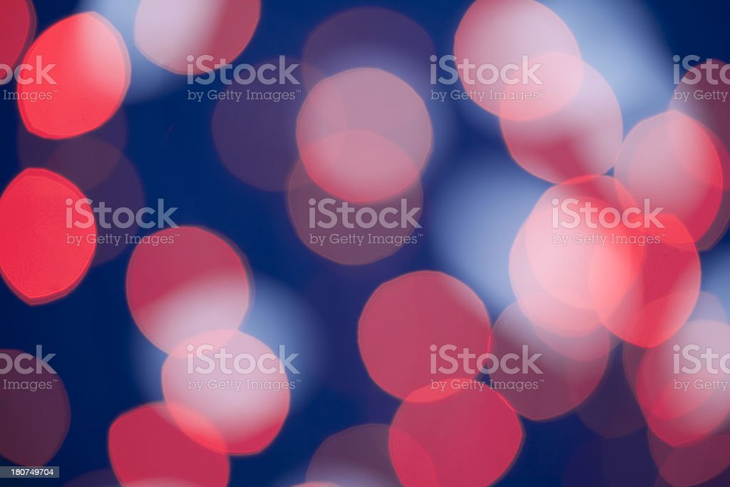 Deep red blue glitter royalty-free stock photo