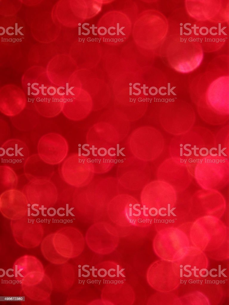 Deep Red Bokeh Background stock photo