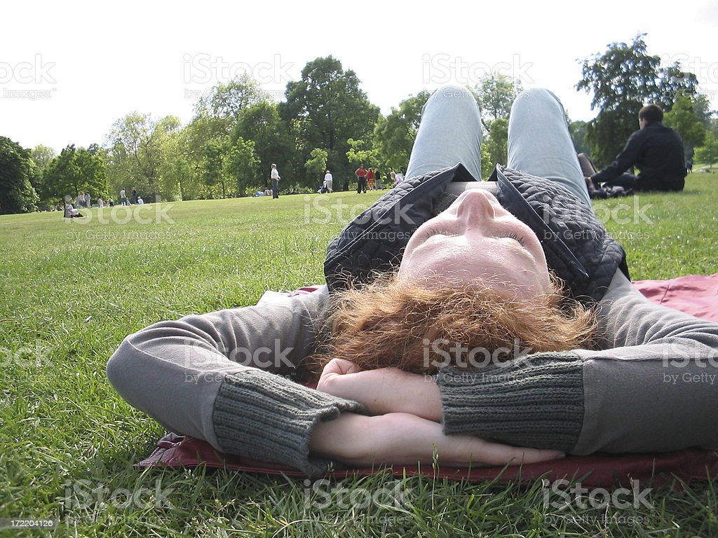 deep relax royalty-free stock photo