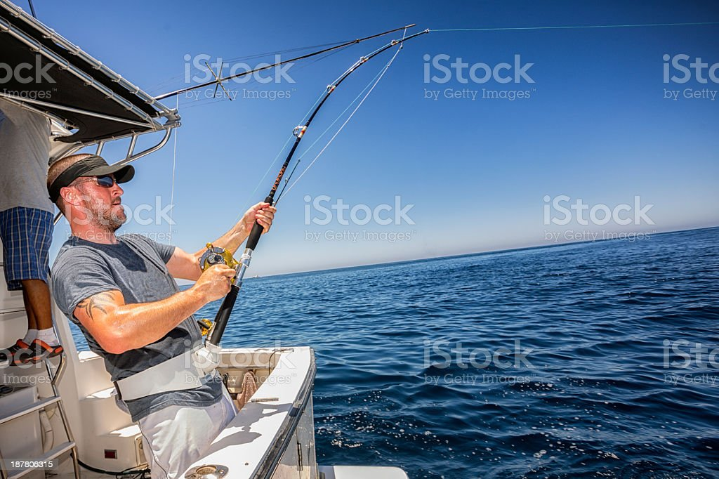 Deep Sea Fisherman royalty-free stock photo
