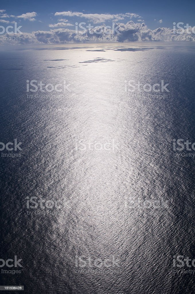 Deep sea glare royalty-free stock photo