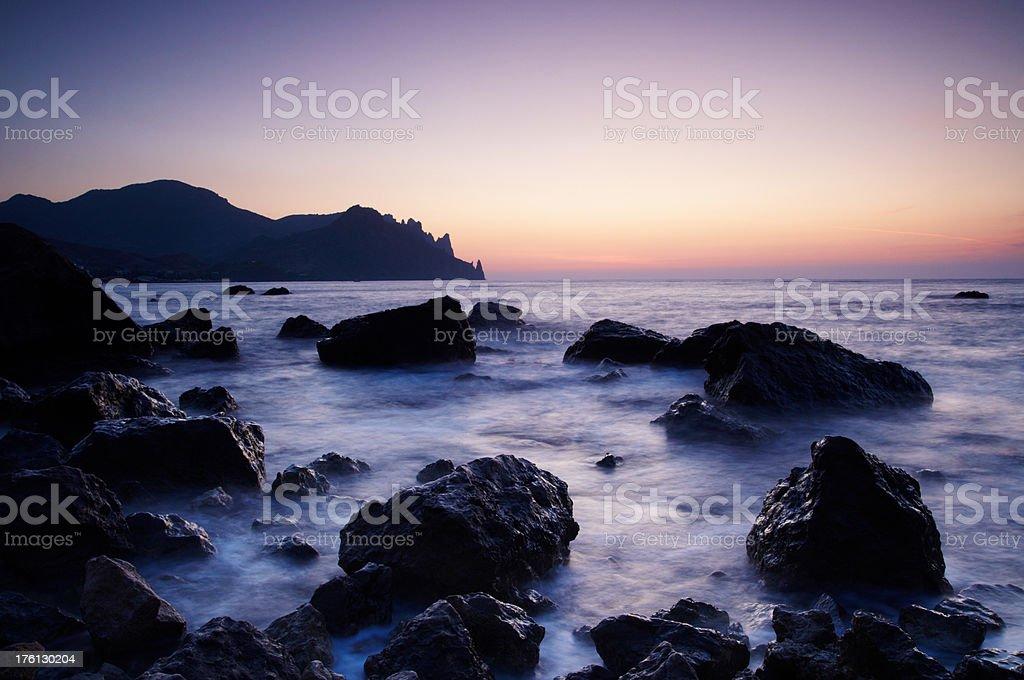 deep sea royalty-free stock photo
