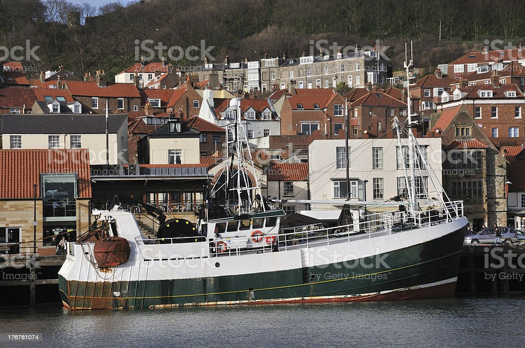 Deep Sea Trawler royalty-free stock photo