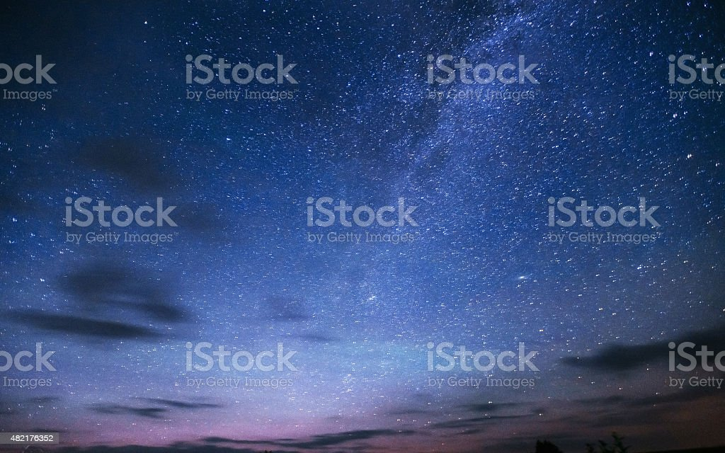 deep sky astrophoto stock photo