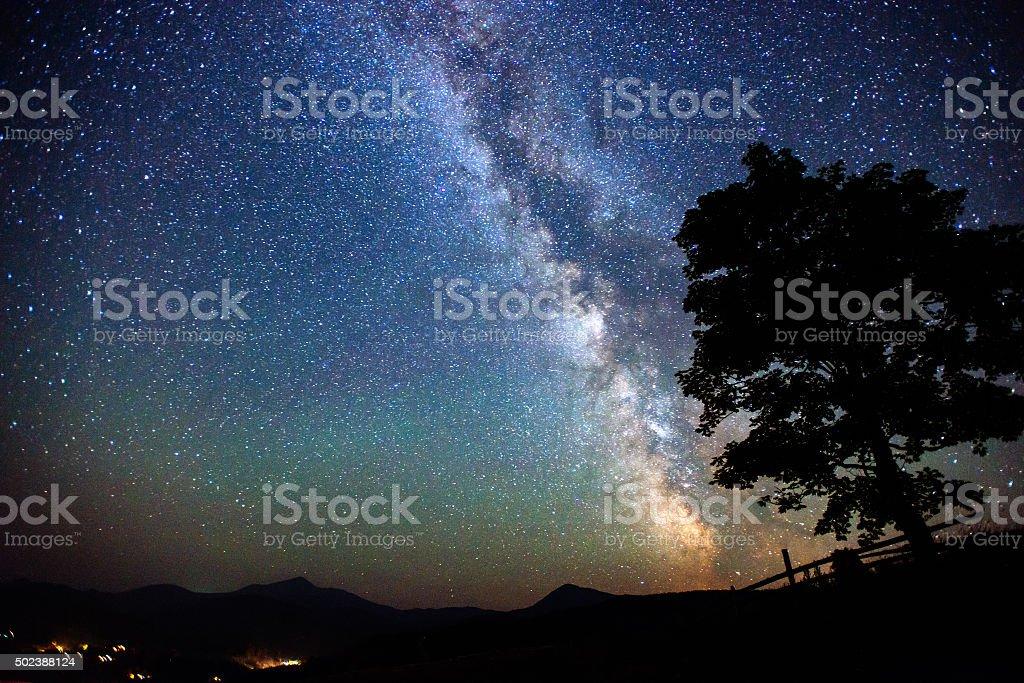 deep sky astrophoto stock photo