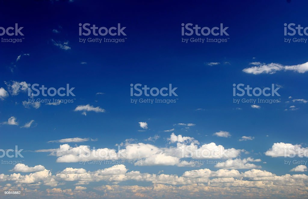 deep sky royalty-free stock photo