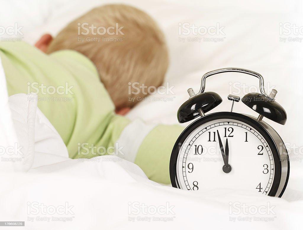 Deep sleep royalty-free stock photo