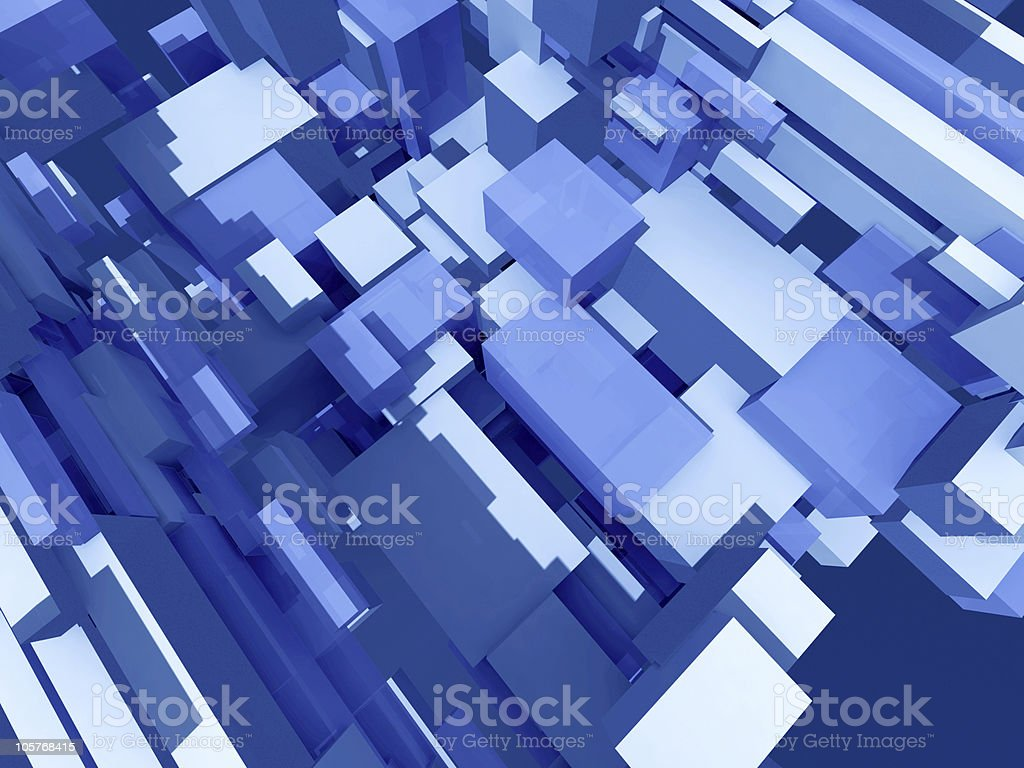 Deep solid structure royalty-free stock vector art