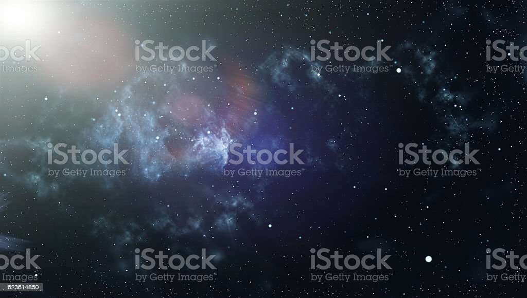 Deep Space. High Definition Star Field Background stock photo