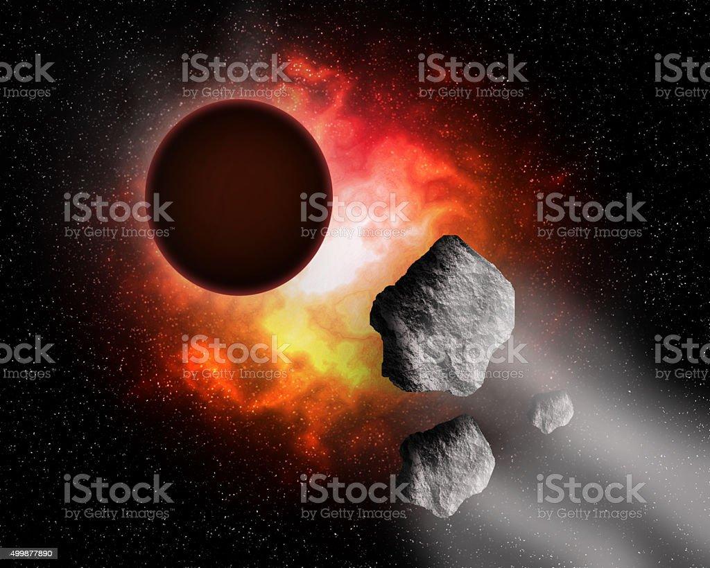 Deep space. stock photo