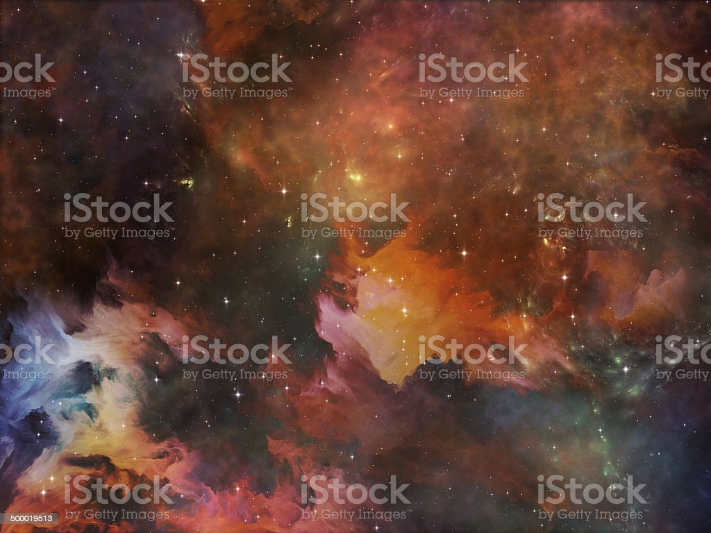 Deep Space royalty-free stock photo
