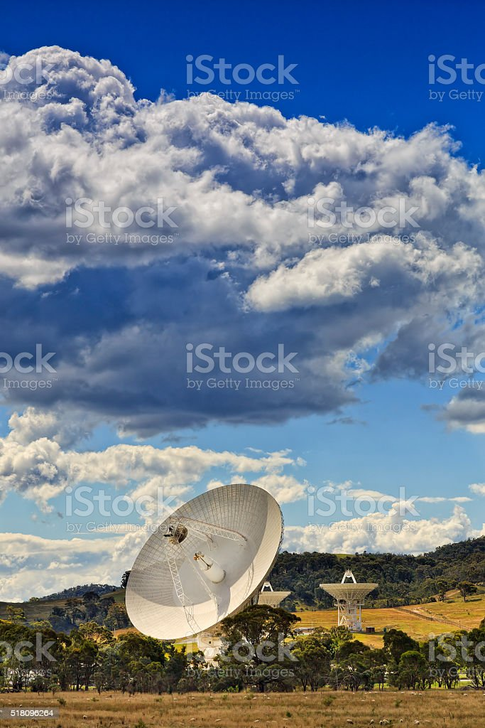 CAN Deep Space SHeeps Dishes Vert stock photo