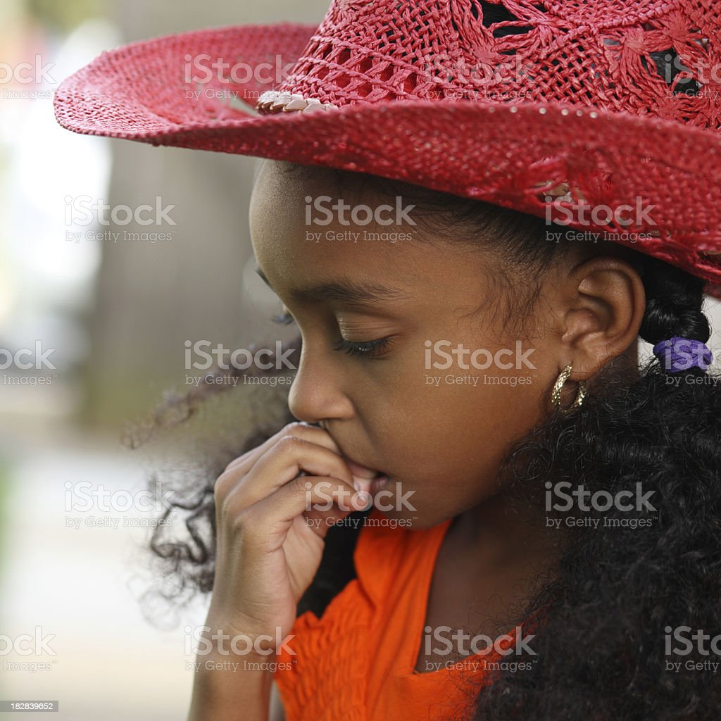 Deep Thoughts stock photo