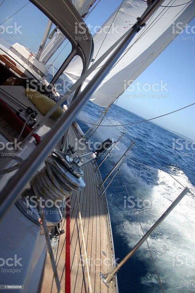 deep water royalty-free stock photo