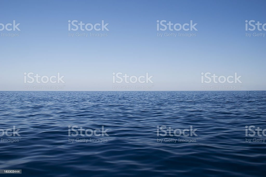 Deep water stock photo