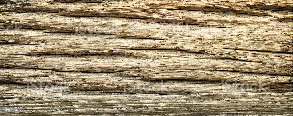 Deeply Textured Barn Wood Horizontal royalty-free stock photo