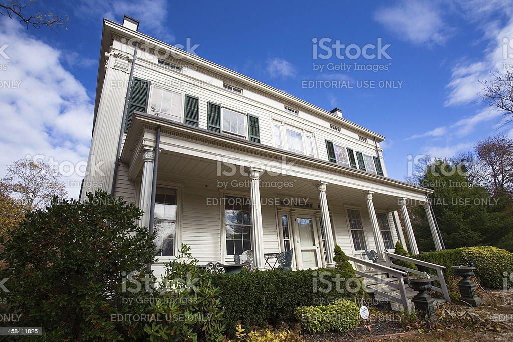 Deepwells Farm Homestead stock photo