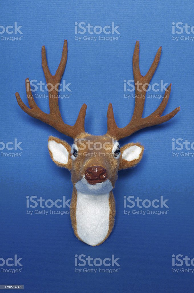 Deer head royalty-free stock photo